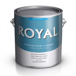КРАСКА ACE PAINT ROYAL INTERIORS WALL TRIM PAINTS EGGSHELL
